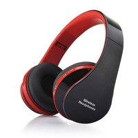 Foldable Wireless Bluetooth Stereo Headset Handsfree Headphones Mic Dropship High Quality 2018 2