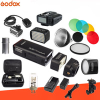 Godox AD200 комплект 200Ws 2,4G ttl карман строба вспышки 1/8000 HSS беспроводные Monolight 2900 mAh Lithimu Батарея и голая лампочка/Speedlite