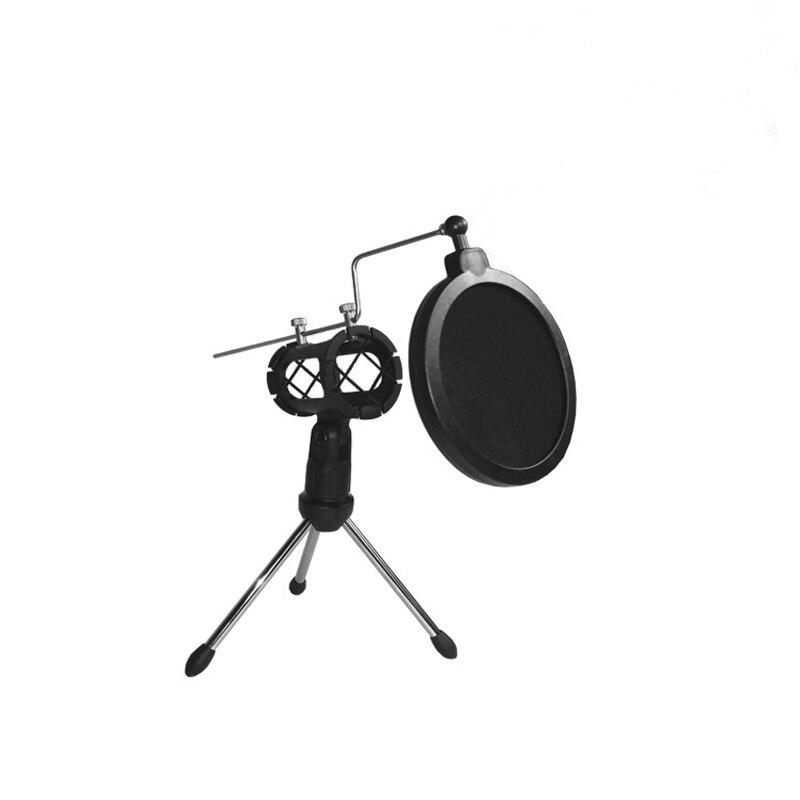 Heimelektronik Zubehör Mikrofon Filter Halter Stick Desktop Stativ Anti-spray Net Kit Ps-2 Mikrofonstativ