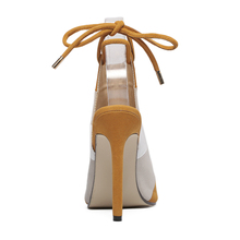 luxury Brand mix color patchwork high heel pumps