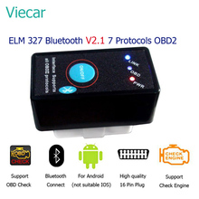 With Button V2 1 ELM327 Code Reader Car Diagnostic Scan Tool OBD 2 Bluetooth ELM 327