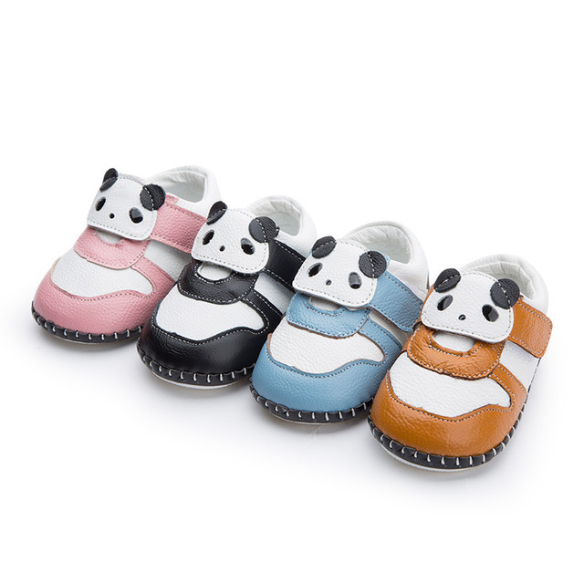 2017 New Arrival Spring Baby Moccasins Genuine Leather Children Sneakers Hard sole Cartoon Summer Toddlers Genuine Leather Shoes