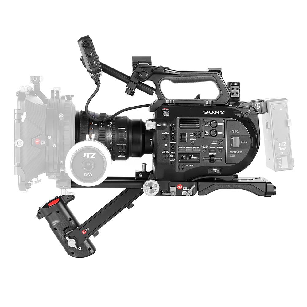 JTZ DP30 пластина основание для камеры Платформа поддержки плеч 15 мм комплекта стержень для Sony fs7 PXW FS7
