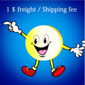 1$ Pay for the carton freight fee ,if your need to add the carton to protect the products packing