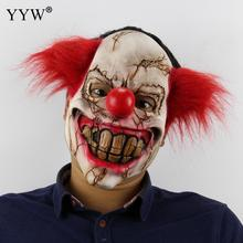 Horror Halloween Scary Clown Mask Terror Maske Props Hedging Masker Realistic Latex Masque Decoration Masks For