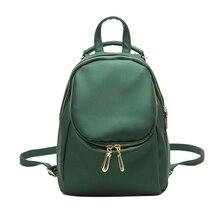 Lacattura мути функция новый туристический рюкзак корейских женщин рюкзак досуга студент школьный винтаж мягкий pu кожа женщины сумку