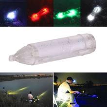 5 цветов Мини рыболовный свет небольшой освещающий 6 см/2,4 дюймов светодиодный глубоководный подводный глаз Форма рыболовная приманка наживка