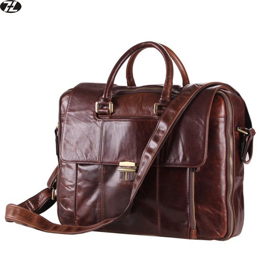 Tassen Mannen : Heren lederen handtassen koop goedkope