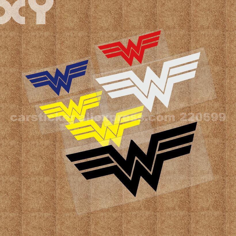 Wonder Woman Logo Vinyl Sticker Decal