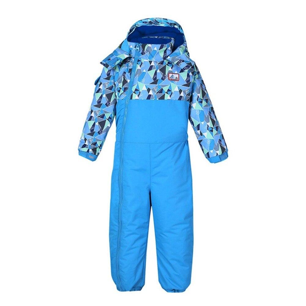 Phibee garçons/filles combinaison de Ski pantalon imperméable + ensemble de veste Sports d'hiver vêtements épaissis costumes de Ski pour enfants