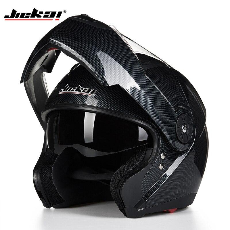 Migliori Vendite Capacetes casco A doppia Lente Modulare Flip Casco Moto Built-In Visiera Cross Country Casco Integrale Casco DOT Approvato