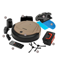 Schedule Robotic Sweeper Automatic Recharge Multifunction Vacuum Cleaning Robot