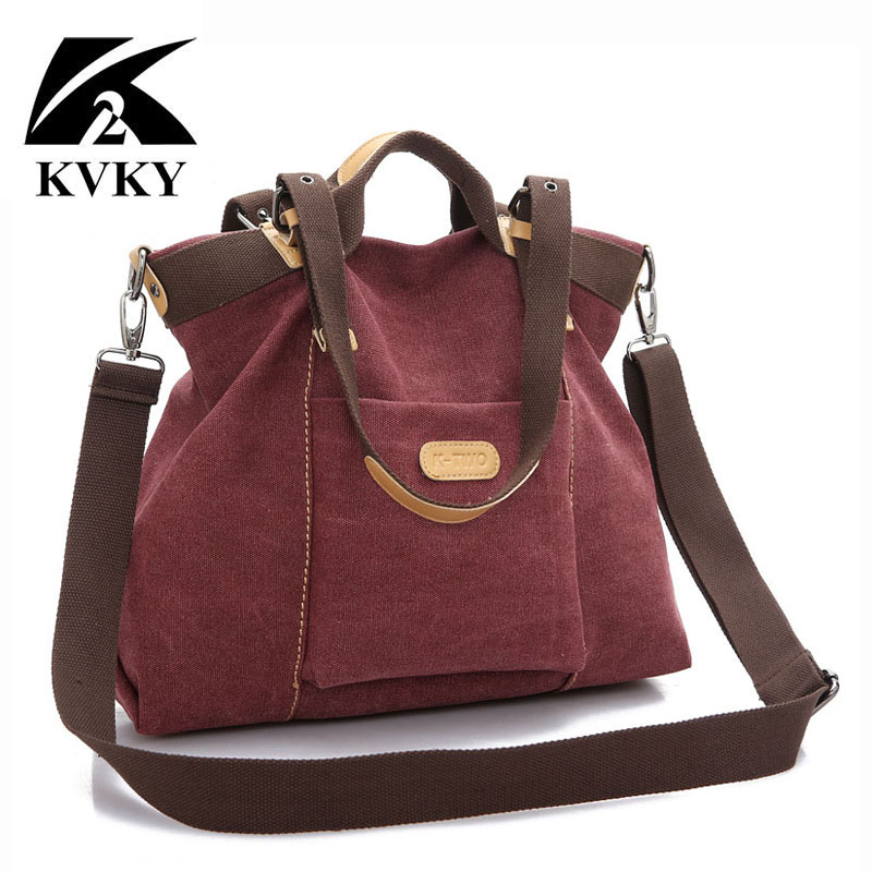 KVKY, новинка, весна осень, холщовые женские сумки, сумка мессенджер, Женская Высококачественная сумка через плечо, известный бренд, сумка чер