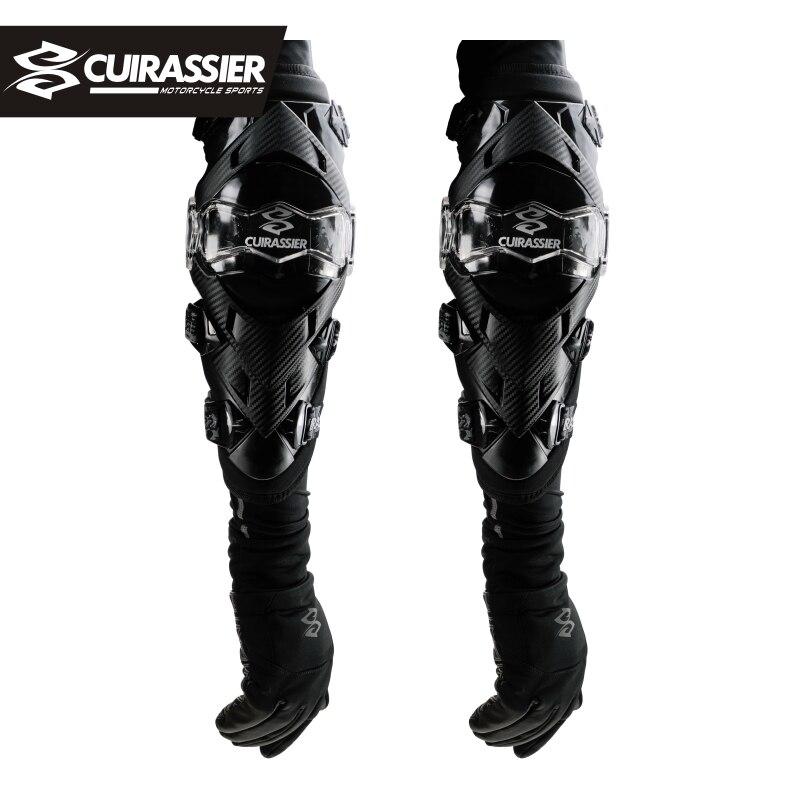 Cuirassier Motorcycle Knee Pads Joelheira Motocross Knee Protector Guard MTB Ski Protective Kneepad Moto Knee Brace Support Gear