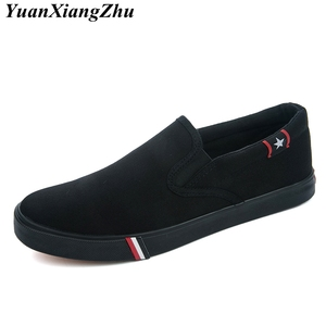 Image 4 - Autumn Slip On Women Canvas Shoes Woman Loafers 2019 New High Quality Classic Casual Flats Female Vulcanized Shoes Size 35 44