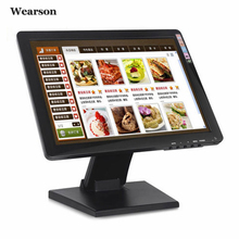 """Wearson 17 """"zoll-resistiven Touchscreen-monitor VGA HDMI 1280×1024 Mit VESA Stand Für Medizinische versorgung & Pos Kassierer & Computer, etc"""