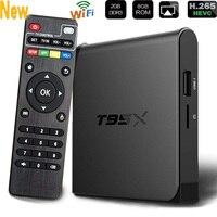2018 Portable T95X TV Box Media Player HD 2+8GB Android 5.1 Box TV Box Amlogic S905X Quad core WIFI TV BOX