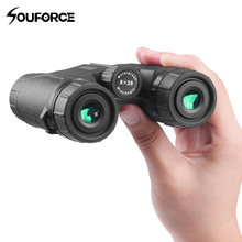 8X28 Mini Binoculars Waterproof Telescope Wide Field Angle for Outdoor