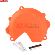 Motorcycle Engine Right Clutch Case Cover Guard Protector for KTM SX/XC/EXC/XCW/250/300  2013-2016 Motocross Enduro Supermoto clutch cover protection cover water pump cover protector for ktm 250 sx f 2013 2015