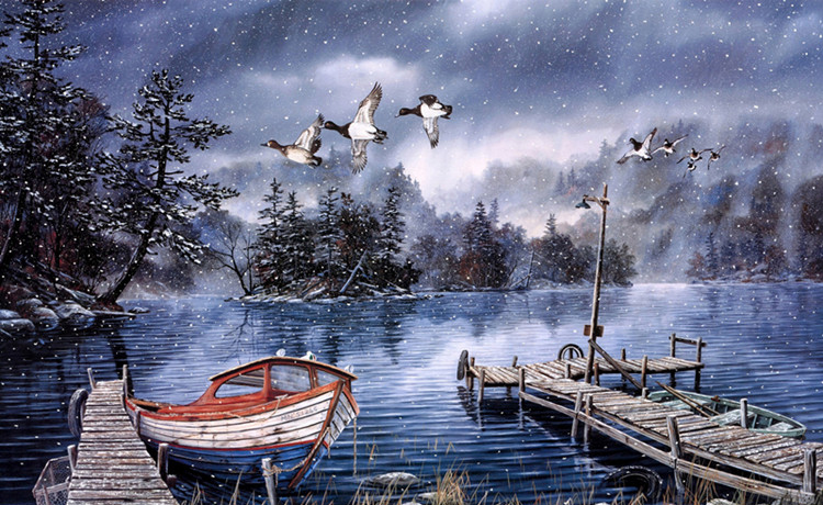 Warm snow The wooden puzzle 1000 pieces ersion  jigsaw puzzle white card adult children's educational toys virgo the wooden puzzle 1000 pieces ersion jigsaw puzzle white card adult heart disease mental relax 12 constellation toys