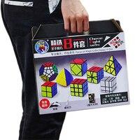 8 stks/set Magic Cubes Skew SQ1 Megaminx Mastermorphix Driehoek Mirror Cube 3*3 Cubos 3 Lagen 2*2 2x2 3x3 Shengshou-in Magische Kubussen van Speelgoed & Hobbies op