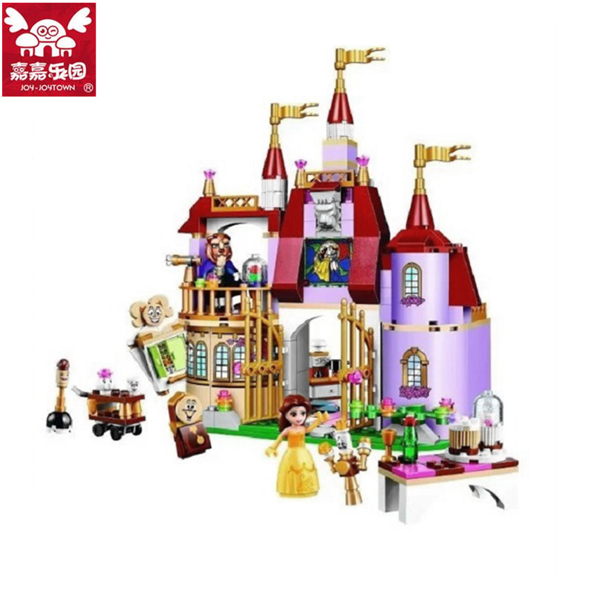 376pcs City Girl Friends Princess Magic Castle Model Building Blocks Educational Assembling Bricks Toys Brand Compatible 472pcs set banbao princess series castle building blocks girl friends favorite scene simulation educational assemble toys