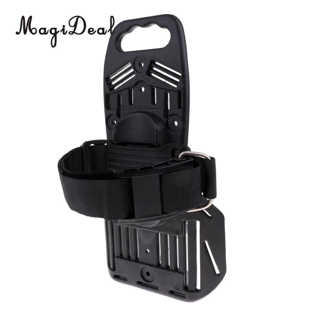 MagiDeal Scuba Diving Tank Bracket Gas Bottle Support Holder Back Pad Dive Backboard Water Sport ...