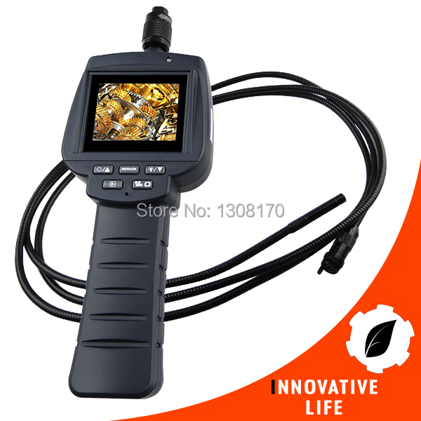 2.4 HD Endoscope 3M Cable 9mm Camera Recordable Video Inspection Snake Scope Industrial Borescope 4 LED Car Engine Repair Tool 3 5 video inspection snake scope camera 99h 8530l1 borescope endoscope 4 leds 8 5mm probe dhl free shipping