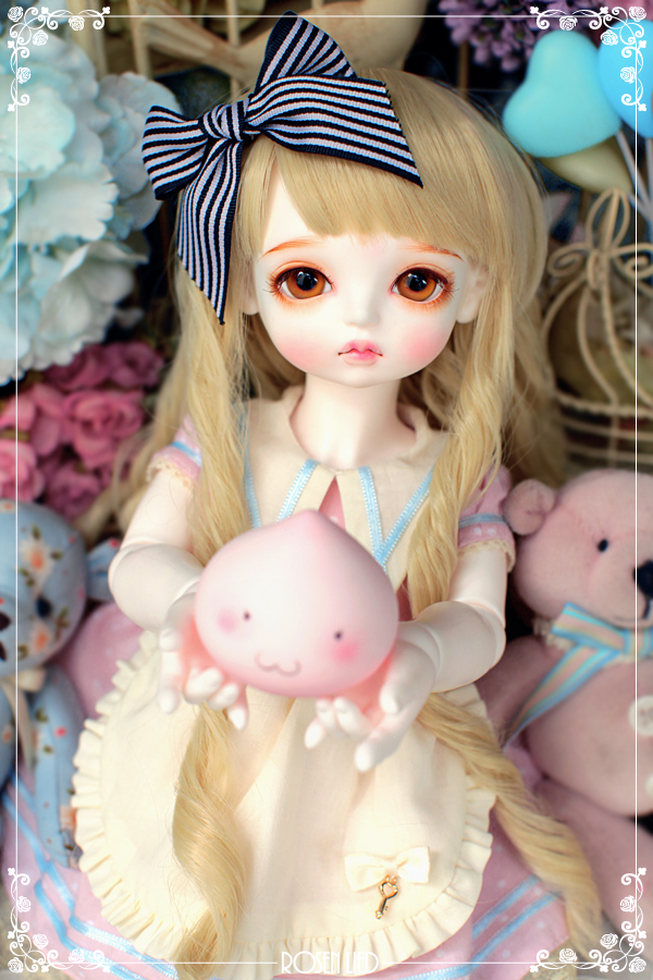 BJD SD doll baby girl doll Rosenlied momo 1/4 soom volks doll cute toy Free shipping free shipping 1 4 bjd lovely doll unoa lusis soom sisit female doll wood araki sd luts doll ball jointed doll