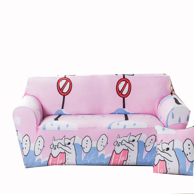 Aliexpress.com : Buy Cats printing corner sofa covers for living ...