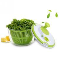 Household Salad Spinner Fruits Dehydrator Colander Manual Vegetables Dryer