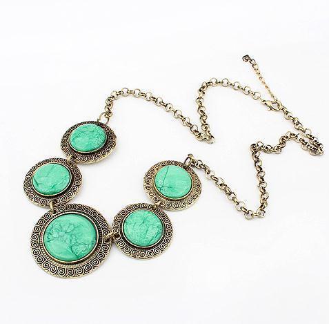 vintage circle statement necklace fashion necklace wholesale jewelry 2013