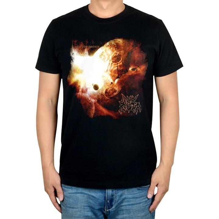 2 дизайна крутой Ангел Гори блистер рок Бренд музыкальная футболка хлопок панк фитнес тяжелый рок металл черный рубашки скейтборд хип хоп - Цвет: 1