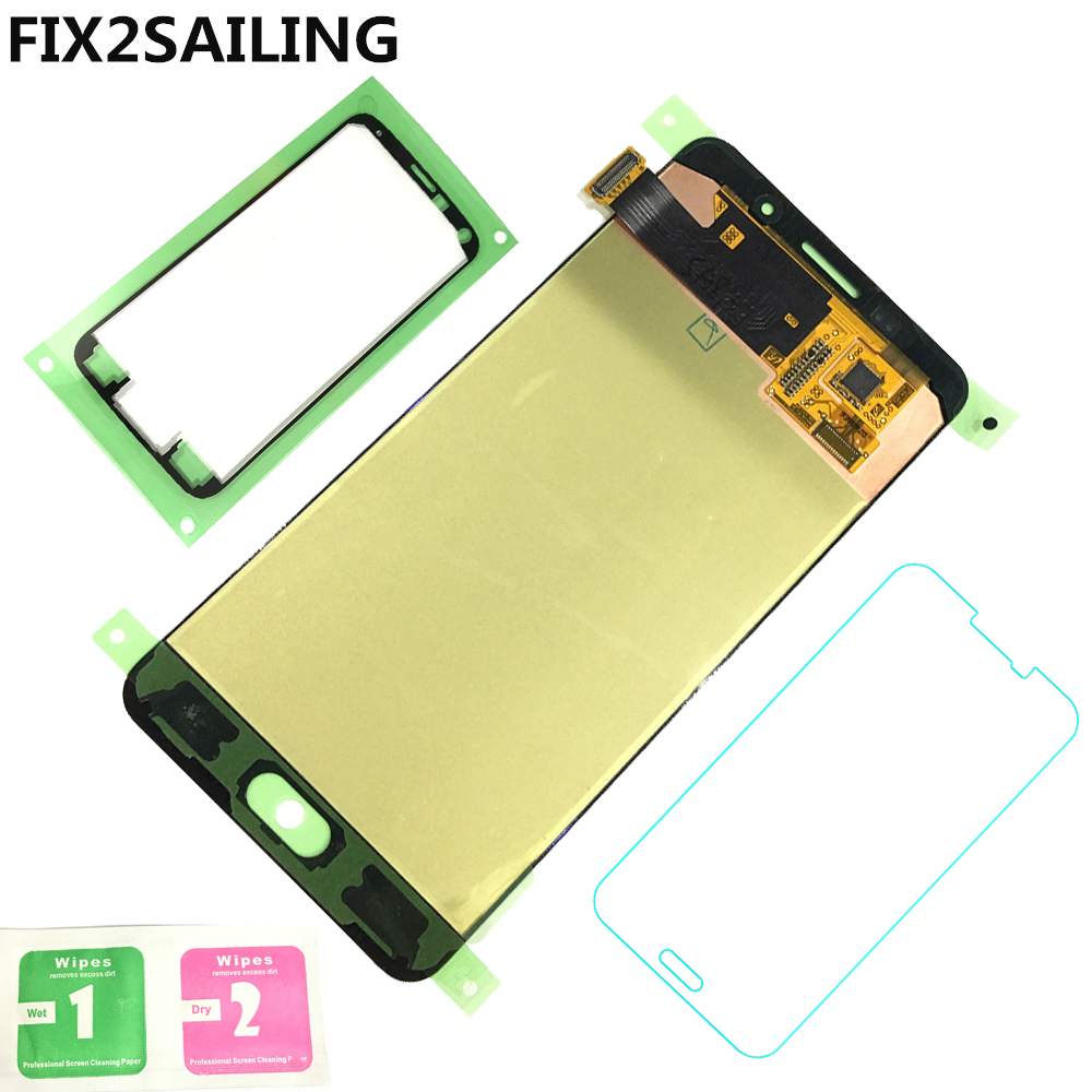Super AMOLED LCD Display 100 Tested Working Touch Screen Assembly For Samsung Galaxy A5 2016 A510