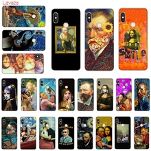 Lavaza Van Gogh Mona Lisa Funny Art Hard Phone Cover for Xiaomi Mi 8 A2 Lite 9 SE A1 Max 3 F1 Redmi 7 Go Case
