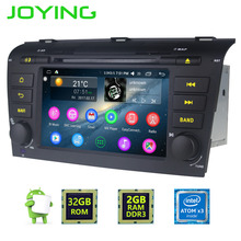 JOYING 2 GB RAM 2Din Android 6.0 Auto radio stereo für Mazda 3 GPS Navigation kopfeinheit für Mazda 3 unterstützung rückfahrkamera/DVR/OBD