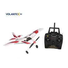 VOLANTEX V761-1 2.4Ghz 3CH Mini Trainstar 6-Axis Remote Control RC Airplane Fixed Wing Drone Plane RTF for Kids Gift Present NEW