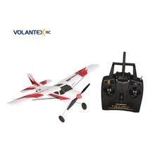 VOLANTEX V761-1 2.4Ghz 3CH Mini Trainstar 6-Axis Remote Control RC Airplane Fixed Wing Drone Plane RTF for Kids Gift Present NEW