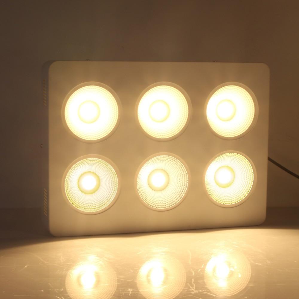 1200w Cob Led Grow Light Panel Full Spectrum With 6pcs Cree Cxb3590 3500k Cd Bin 80 Cri Lamp For Indoor Seeding Growth Flowering Full Spectrum Grow Light Panelled Grow Aliexpress