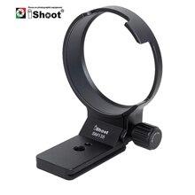 IShoot obroża obiektywu wsparcie dla Sigma 135mm f/1.8 DG HSM Art statyw na obiektyw pierścień mocujący wymień podstawę z Canon Nikon Adapter do montażu