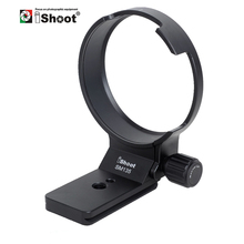 Ishoot lente colar suporte para sigma 135mm f/1.8 dg hsm arte lente tripé montagem anel substituir a base com canon nikon montagem adaptador