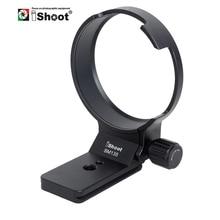 Support de collier dobjectif iShoot pour Sigma 135mm f/1.8 DG HSM bague de montage pour trépied pour objectif dart remplacer la Base par un adaptateur de monture Nikon Canon