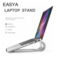EASYA Portable Laptop Stand Aluminum Alloy NoteBooks Holder Stand for iPad Macbook Air / Pro Metal Bracket