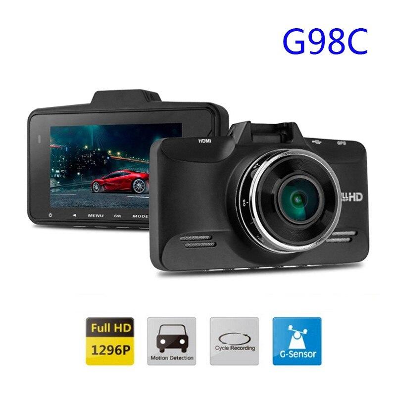 Free Shipping!Original Ambarella A7LA70 G98C Car Video Recorder 1296P 30FPS 2.7inch LCD 120 Degree G-Sensor HDR Cam