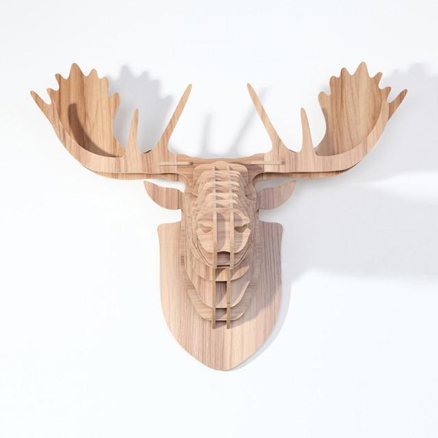 Aliexpresscom Buy Nordic Finland style moose headwall deer