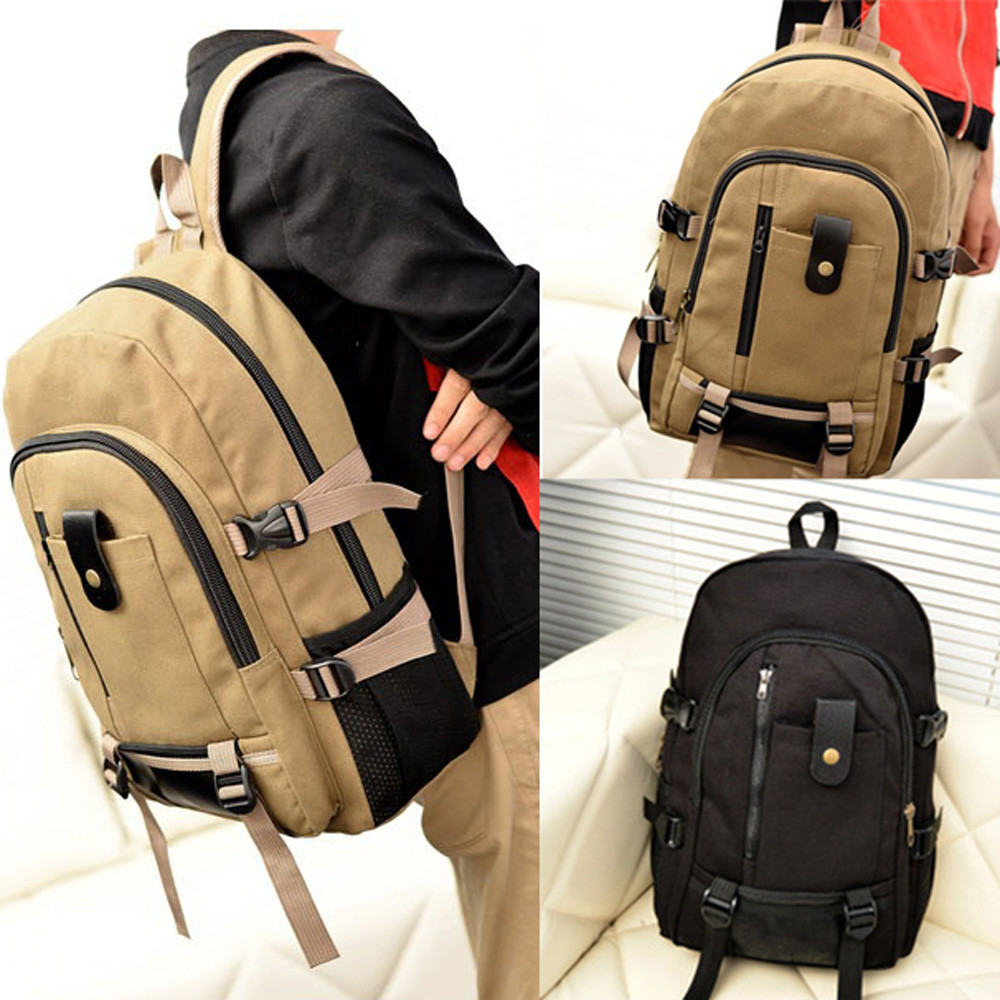 Multifunction women backpack fashion youth korean style shoulder bag laptop backpack schoolbags for teenager Canvas Backpacks