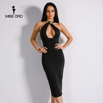 Sexy V front O-Neck sleeveless Elegant Dress party dress