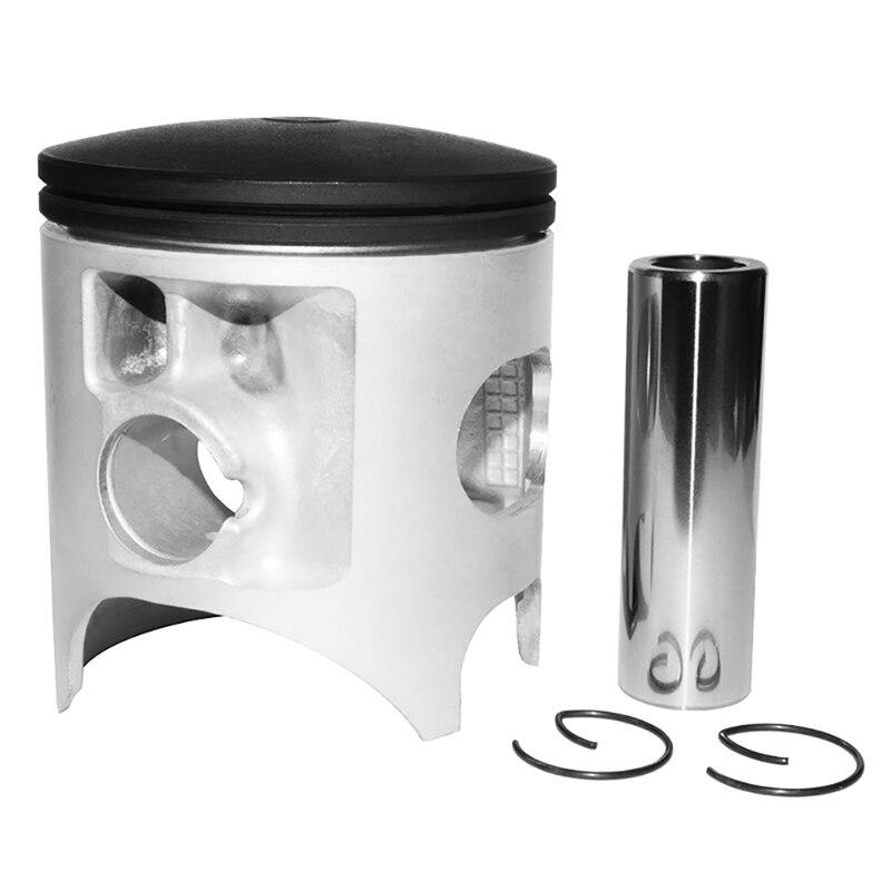Cylindre de moto alésage taille 66.4mm Pistons et anneaux pour HONDA CR250 pour SUZUKI RM250 pour KAWASAKI KX250 pour YAMAHA YZ250