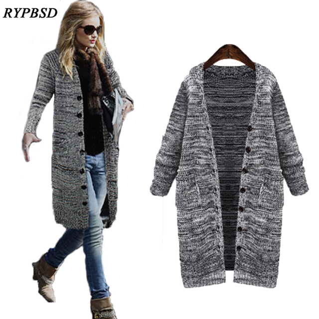 Aliexpress.com : Buy 2017 Spring New Long Cardigan Sweater Women ...