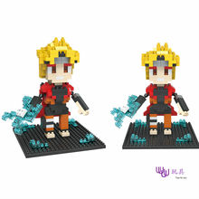 SC: NARUTO – 1152  Diamond Micro Nano Building Blocks Action Figure boy & girl gifts
